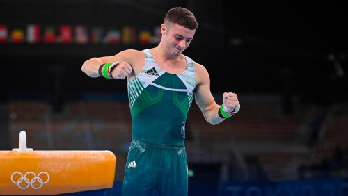 Rhys McClenaghan has 'good day at the office' after comfortably qualifying for pommel horse final