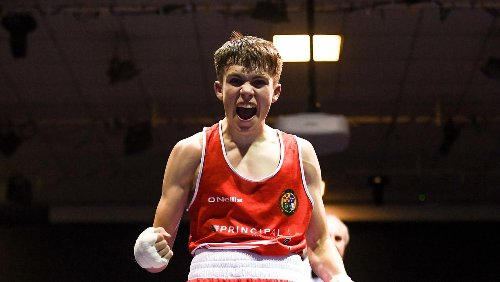 Adam Hession set for at least a silver medal at U-22 European championship after semi-final opponent withdraws