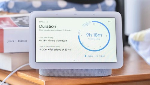 Rest easy as Google's Nest Hub keeps tabs on your sleep quality and snores