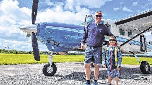 Pilot and boy (7) died in Offaly plane crash 'during skydiving exercise' – inquest