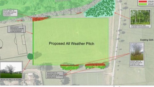 Rivervalley all-weather pitch set for completion in Spring of 2022