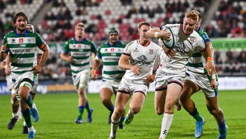 Two-try Nathan Doak puts hand up for Ireland call-up as Ulster secure bonus-point win over Benetton