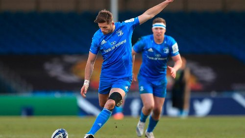 Leo Cullen hails 'outstanding' Ross Byrne and gives positive update as Johnny Sexton faces return-to-play process