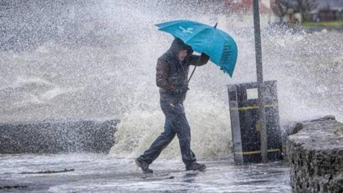 Weather Ireland: Status Orange warning in place for three counties amid risk of localised flooding in east Munster and Leinster