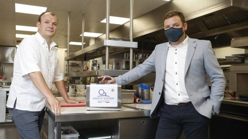 Ozone machines help bars, cafes and restaurants with reopening