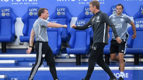 Graham Potter heaps praise on job Brendan Rodgers has done at Leicester