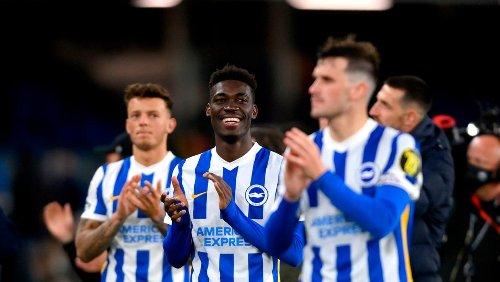 Remarkable second-half comeback sees 10-man Brighton upset champions Man City