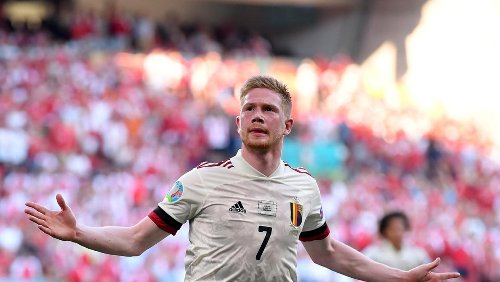 Kevin De Bruyne the difference as Belgium hit back to deny dominant Denmark
