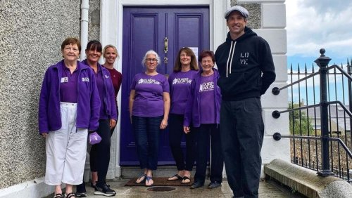 Patrick Dempsey spends final and 'most impactful' day in Ireland visiting cancer support centre