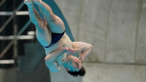Oliver Dingley qualifies for second Olympics with eighth place finish at Diving World Cup