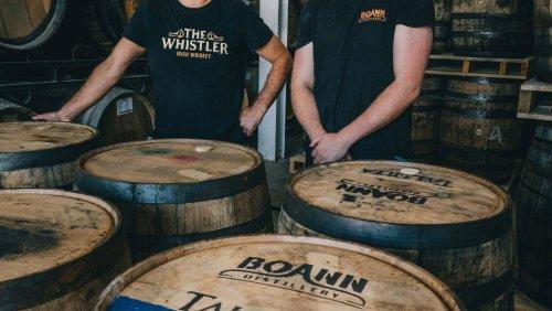 Local distillery in transatlantic whiskey study