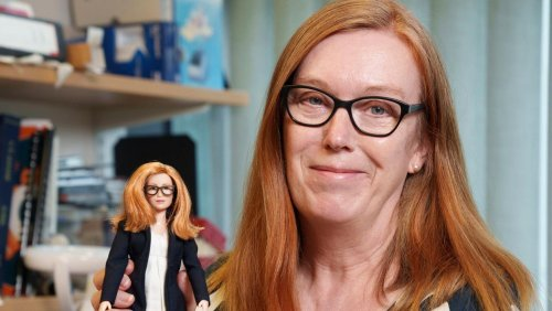 Boffin Barbie: New doll made in honour of vaccine creator