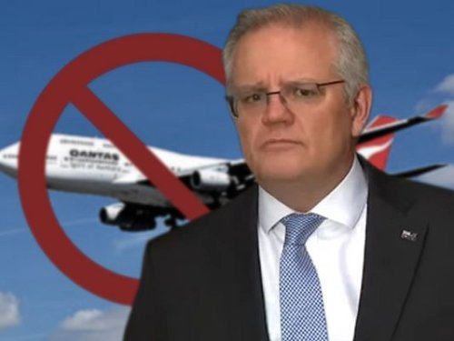 Double standards in Australian travel ban crisis