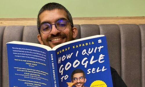 How Munaf Kapadia quit Google to sell samosas. And then, wrote a book about it