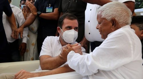 RJD chief Lalu Prasad Yadav heaps scorn on Congress ahead of Bihar bypolls