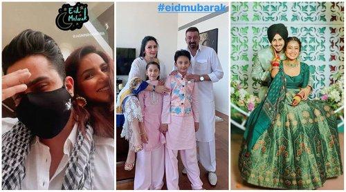 Eid Mubarak 2021: Sanjay Dutt, Shahid Kapoor, Aly Goni-Jasmin Bhasin, Neha Kakkar wish fans