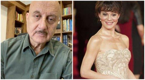 After Anushka Sharma, Anupam Kher mourns Harry Potter actor Helen McCrory's demise: 'Deep sense of loss'