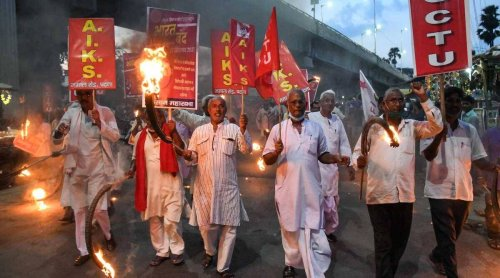 Bharat Bandh Today Live Updates: Farmers mark one year of Presidential assent to agri laws