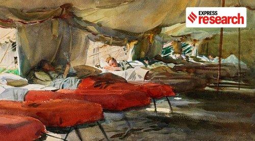 Painting the Spanish Flu: How iconic art and literature depicted the ailing, the dead