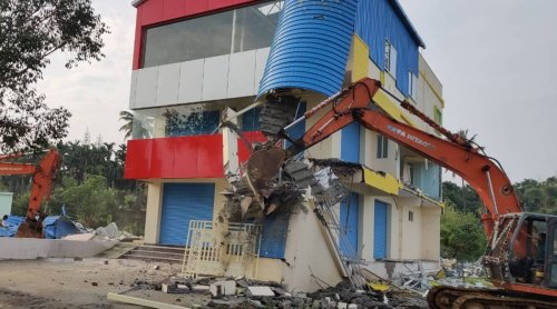 Bengaluru: Illegal structures razed in Shivaram Karanth Layout, 500 more under scanner
