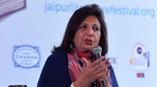 Biocon chief Kiran Mazumdar-Shaw expresses concern over COVID-19 vaccine shortage