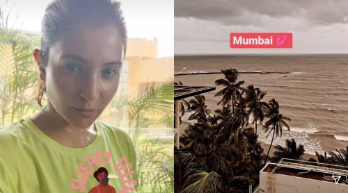 Anushka Sharma shares the stunning Mumbai view as she returns home with daughter Vamika