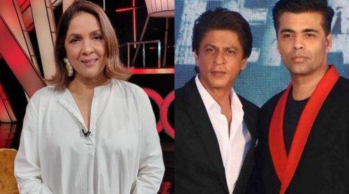 When Neena Gupta called Shah Rukh Khan, Karan Johar 'mean and cheapy' for this hilarious reason