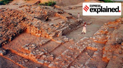 Explained: What UNESCO heritage site Dholavira tells us about the Indus Valley Civilisation
