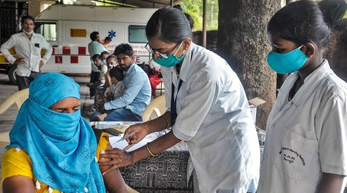 Almost 25 per cent of India fully vaccinated against Covid-19