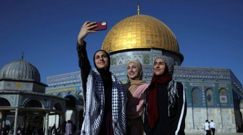 Palestine marks sombre Eid in Israel conflict shadow