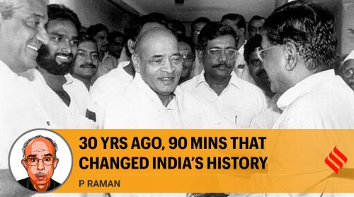 30 yrs ago, 90 mins that changed India's history