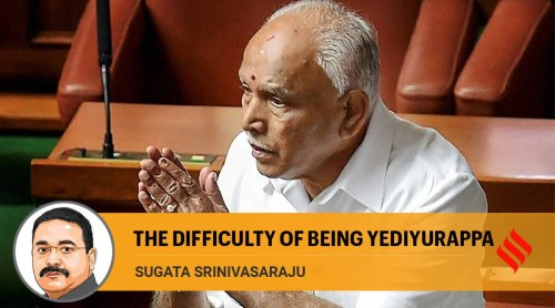 Yediyurappa has to resign because his vulnerabilities have finally caught up with him