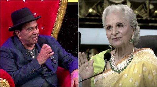 Dance Deewane 3: Dharmendra reveals he was smitten by Waheeda Rehman after watching Chaudhvin Ka Chand