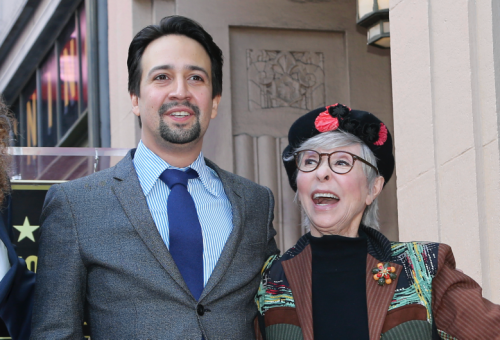 Rita Moreno Defends Lin-Manuel Miranda Over 'In the Heights' Colorism: 'Can't You Leave It Alone?'