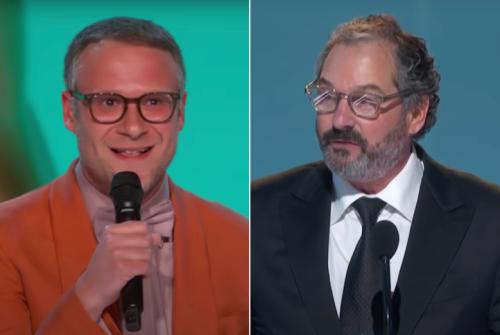 Emmys Producer Speaks Out Against Seth Rogen's 'Frustrating' Covid Jokes, 'Disrespectful' Scott Frank