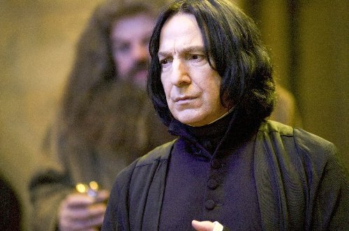 Alan Rickman Spent Final Day on 'Harry Potter' Set Mentoring Young Actor About Career Plans