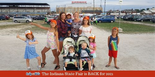 The Indiana State Fair is BACK for 2021