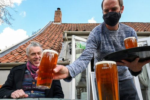 Covid restrictions are a 'blow' to pubs - but some customers like them