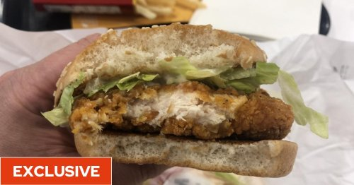 I ate McDonald's new McSpicy chicken burger and became upset by the lack of heat