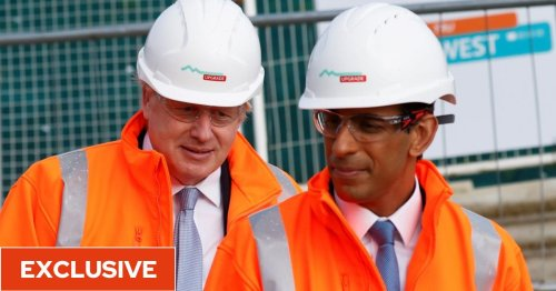 Boris Johnson 'demands more cash for Red Wall rail plan' in latest spending battle with No11
