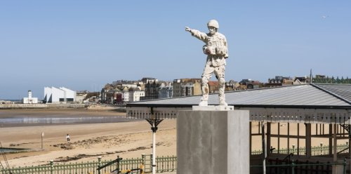The bold public artworks making waves this summer in seaside towns along the southern coast
