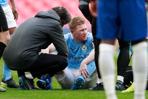 De Bruyne injury 'doesn't look good' as Man City dealt blow in key fortnight