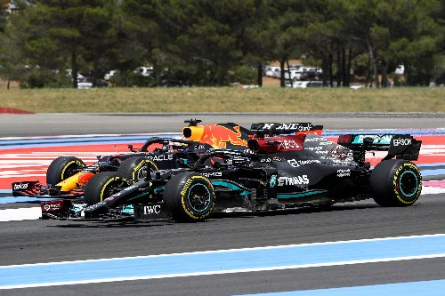 How Verstappen error 'gifted' Hamilton the lead at the French Grand Prix