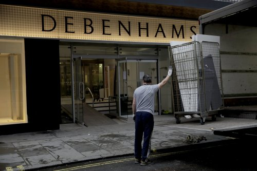 Debenhams to disappear for good from Britain's high streets in just 10 days
