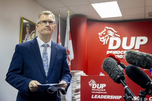 Jeffrey Donaldson becomes new DUP leader - and insists Northern Ireland Protocol must be changed