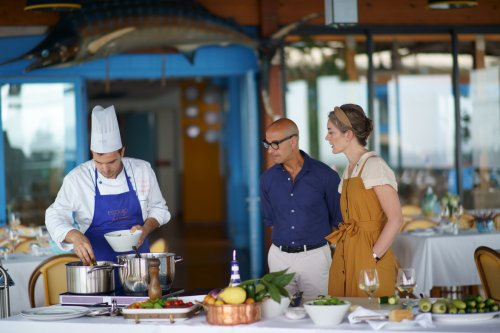 Actor and foodie Stanley Tucci is charm personified in Searching For Italy