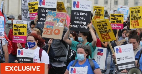 NHS workers set to see income fall as universal credit cut and new health tax cancel pay rise