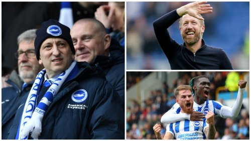 How smart recruitment and Graham Potter's innovation have got Brighton flying high this season