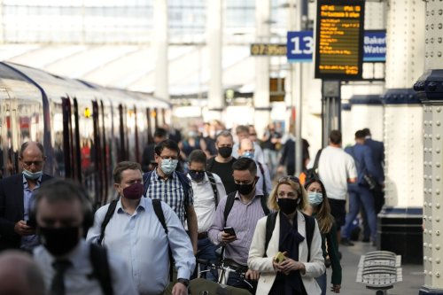 The rail services in England affected due to train crews having to self-isolate