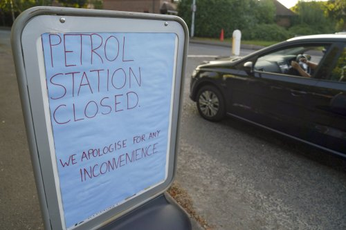 Petrol crisis joins queue of blunders that raise questions about the Government's competence
